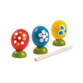 Huevos percusión