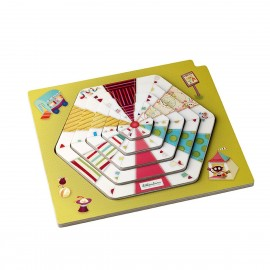 Puzzle piramidal circo