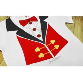 Camiseta Presentador Cirque Magique