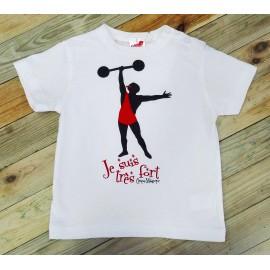 Camiseta Forzudo Cirque Magique