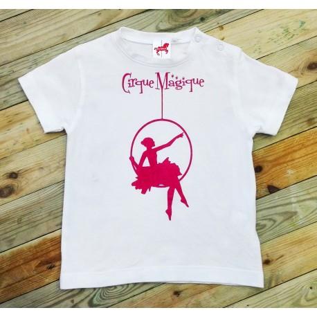Camiseta Trapecista Cirque Magique