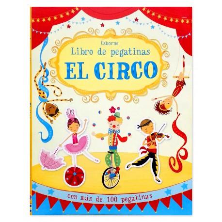 Libro de Pegatinas El Circo Usborne